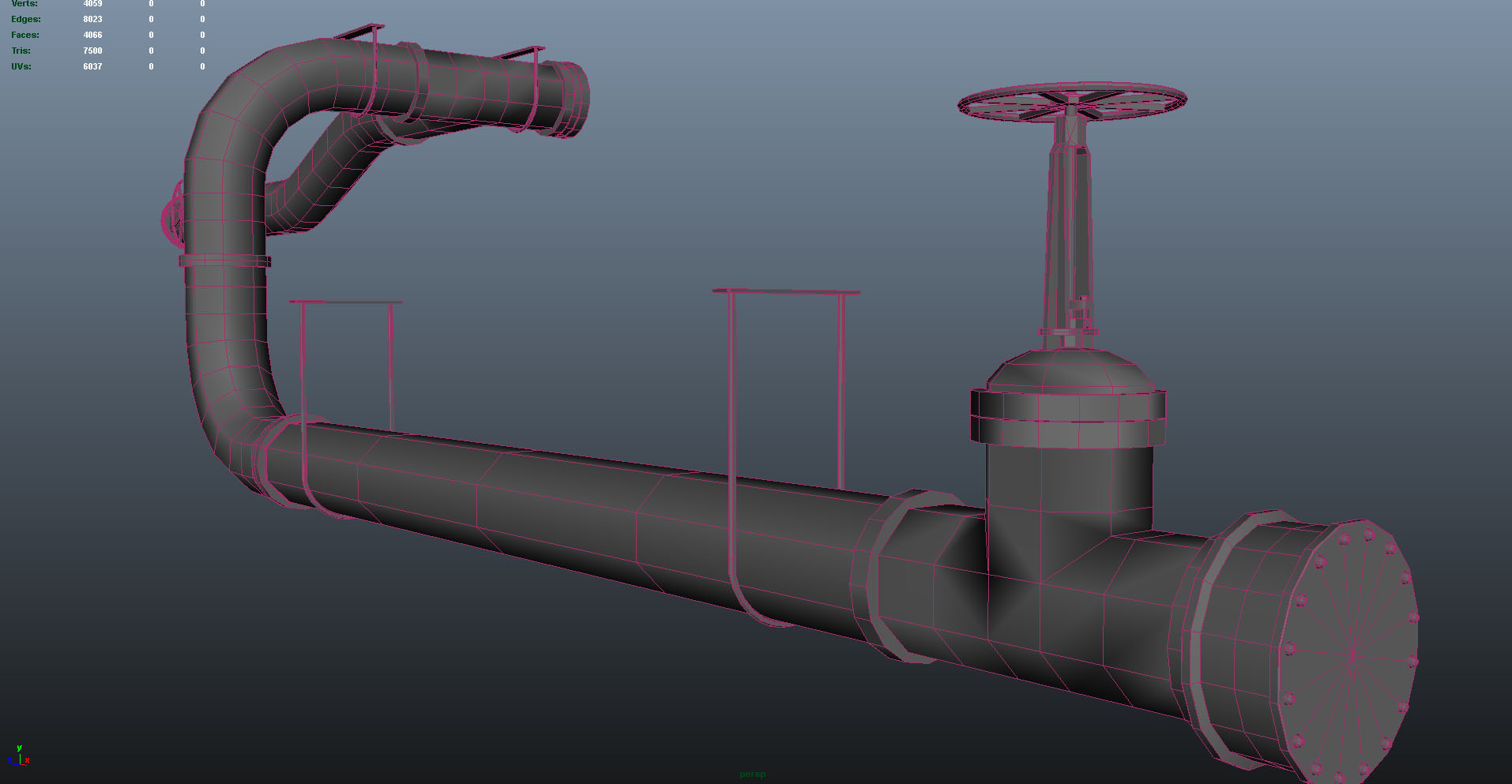 modular pipes - detail