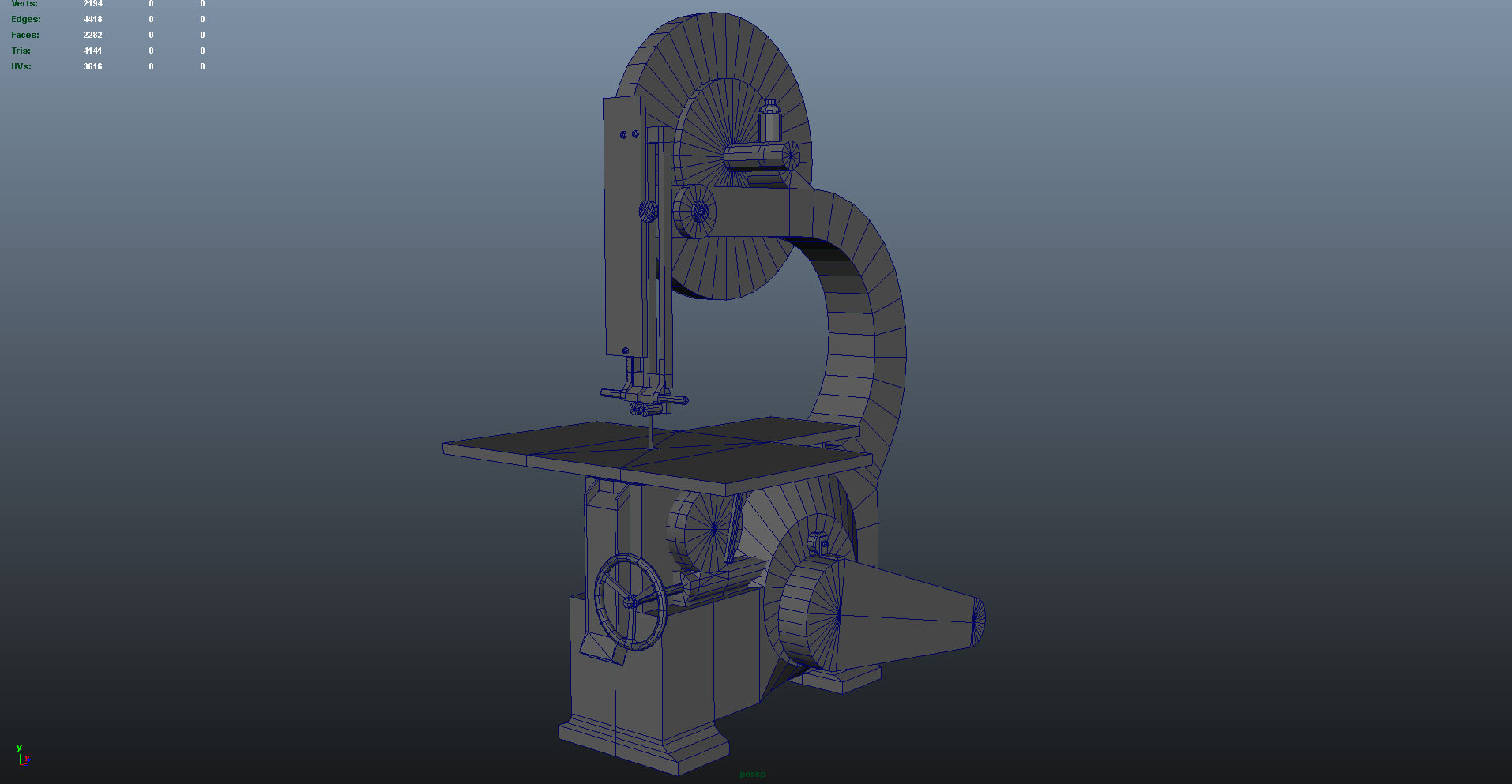 band saw - front