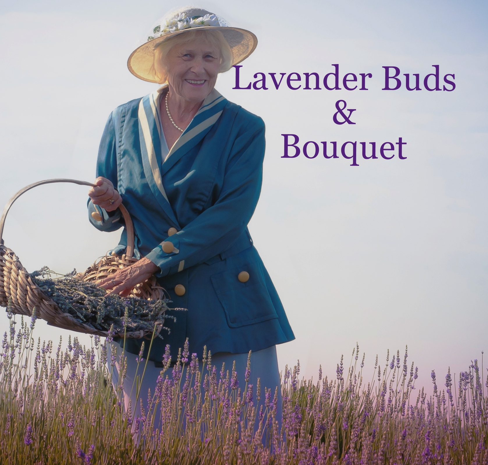 Lavender Buds and Bouquet