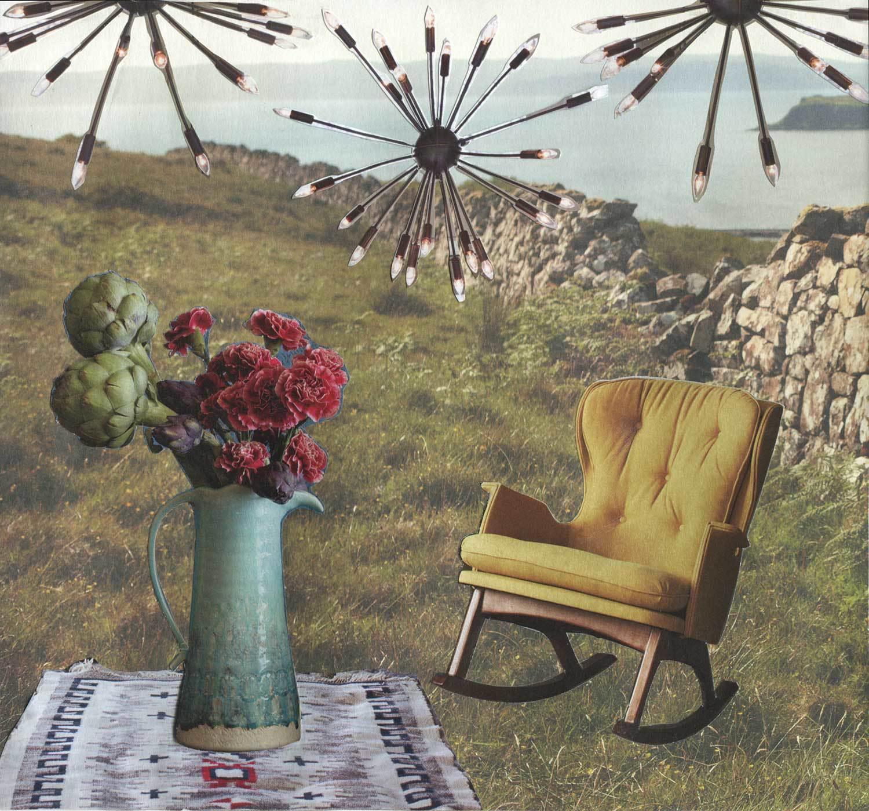 Yellow Rocking Chair