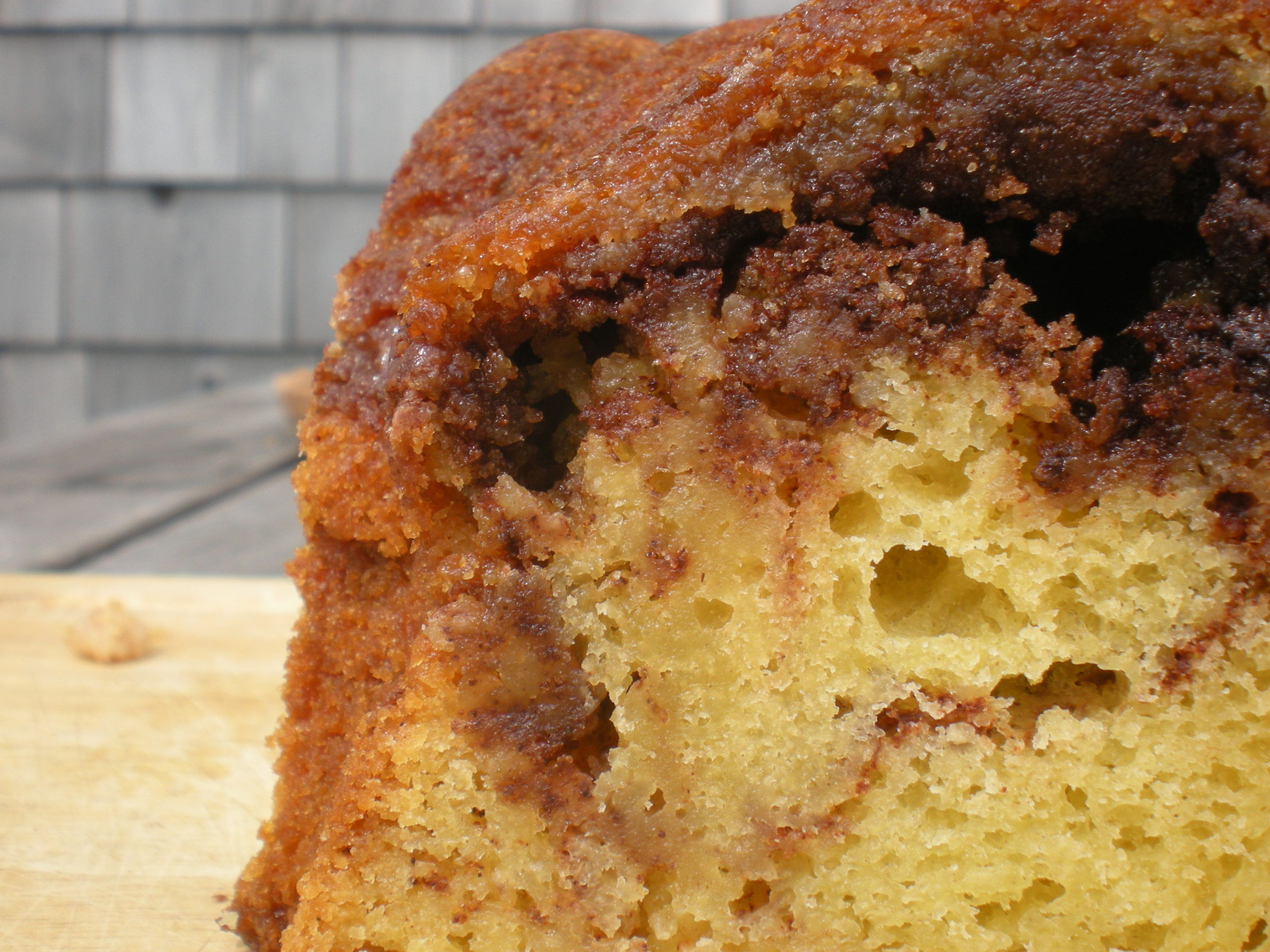 Bessie's Sour Cream Coffe Cake.