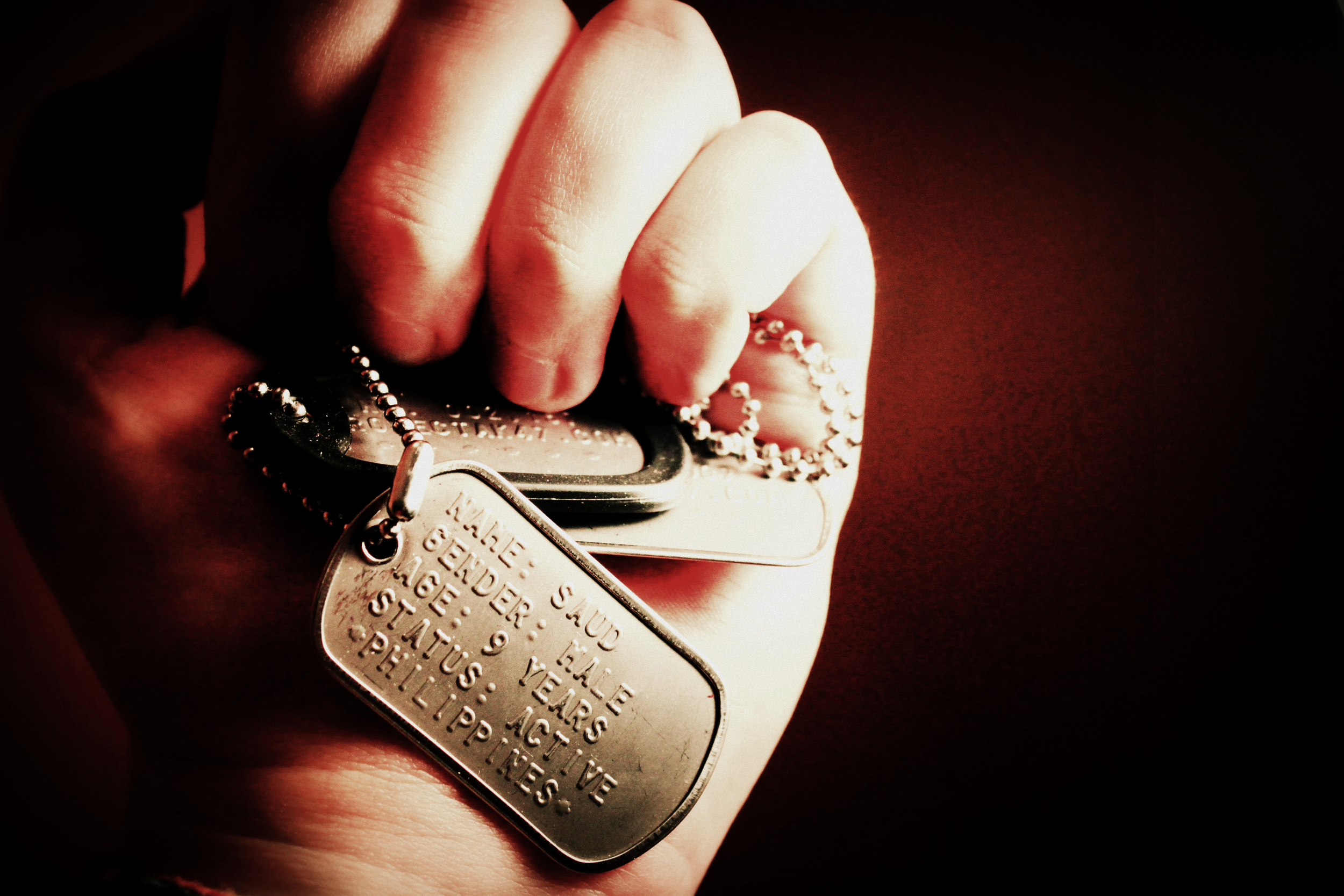 Dog Tag Photo Laura Marie Beckwith