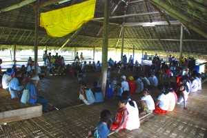 Meeting with the Mindanao Datus