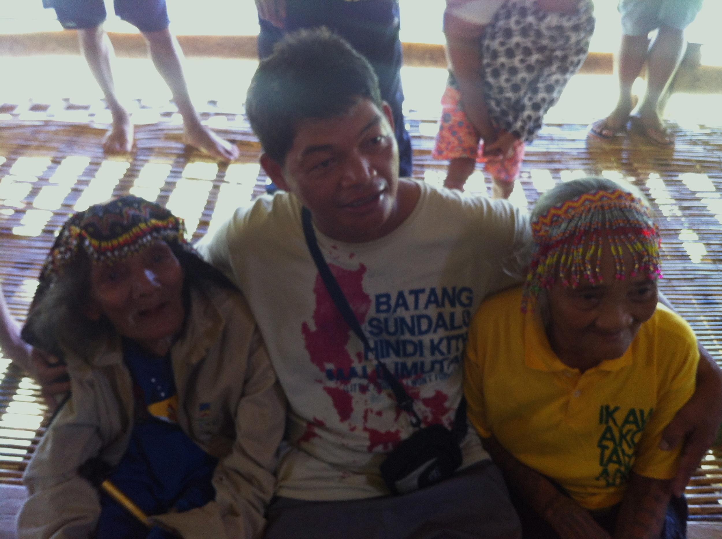 Datu Kalambuan with his father & mother