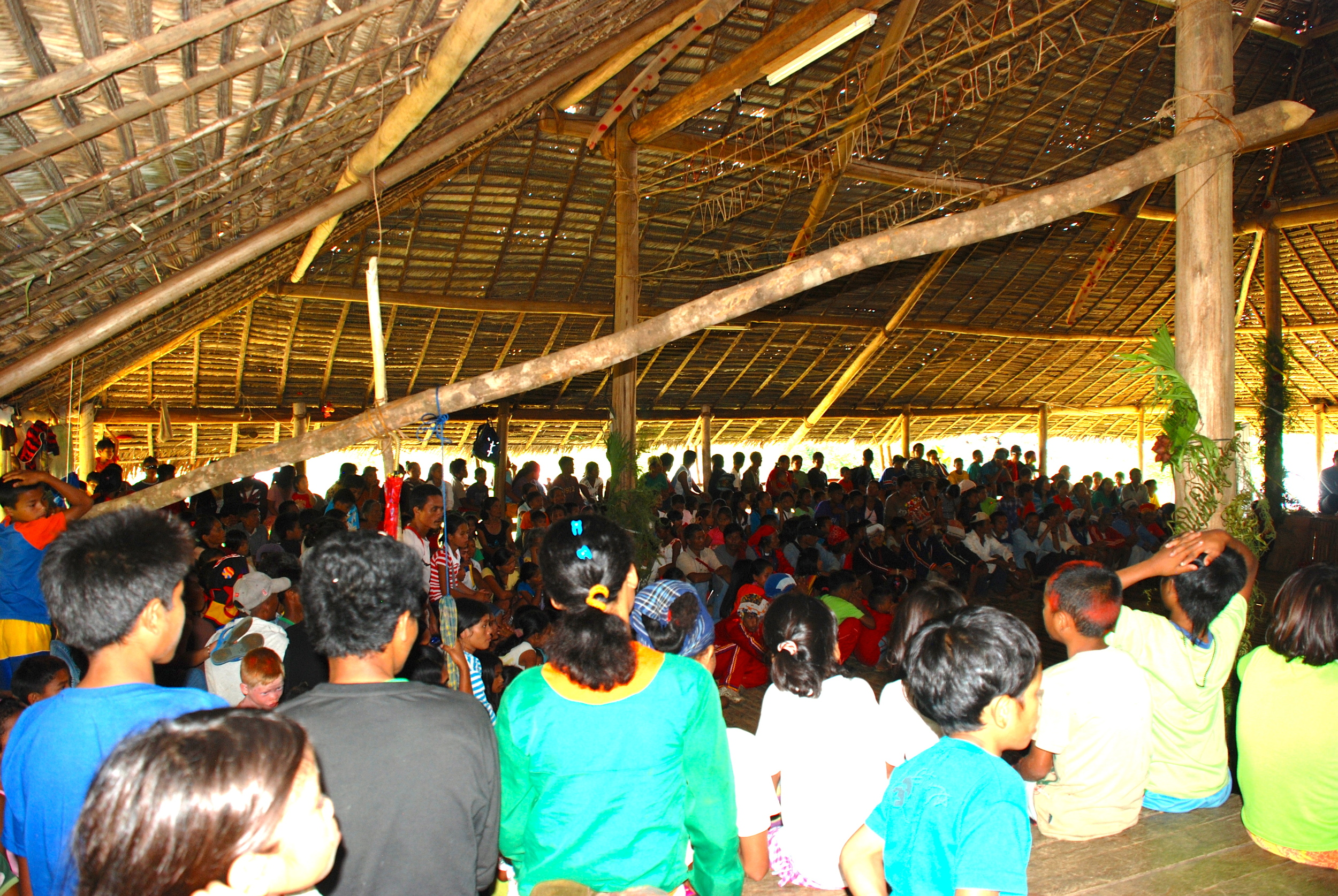 Tribal peace and reconciliation gathering