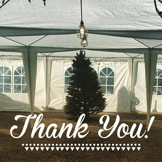 THANK YOU for making Loya's Courtyard part of your holiday tradition. Our tree lot was an overwhelming success and as of today we only have 1 tree left! We appreciate everyone who spread the word and shared with friends and family.