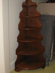 """Victorian Corner Shelf  - $550  Height: 64""""  Width: 30""""  Depth: 19"""""""