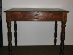 "French Writing Table  - $1900  Height: 28""  Width: 33""  Depth: 22.5"""