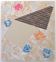 "2008 Hilary Irons ""Morris 2"" Acrylic on Canvas  - $5500  Height: 58""  Width: 52"""