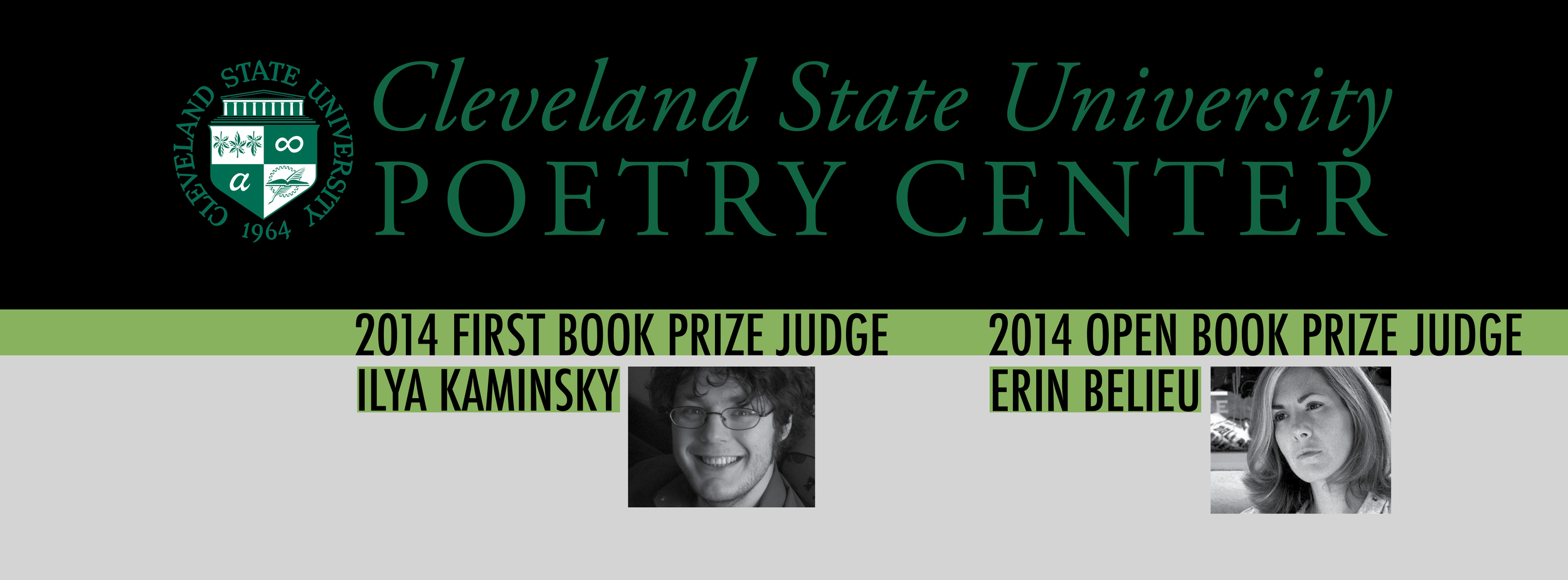Cleveland State University Poetry Center Facebook cover photo.