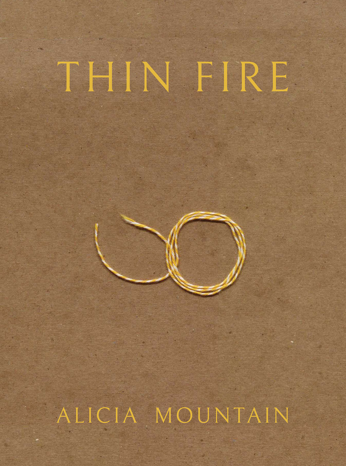 Cover layout + interior design for Alicia Mountain's  Thin Fire  ( BOAAT Press , 2018). Read in full  here .