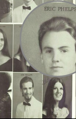 Eric Jon Phelps in High School.