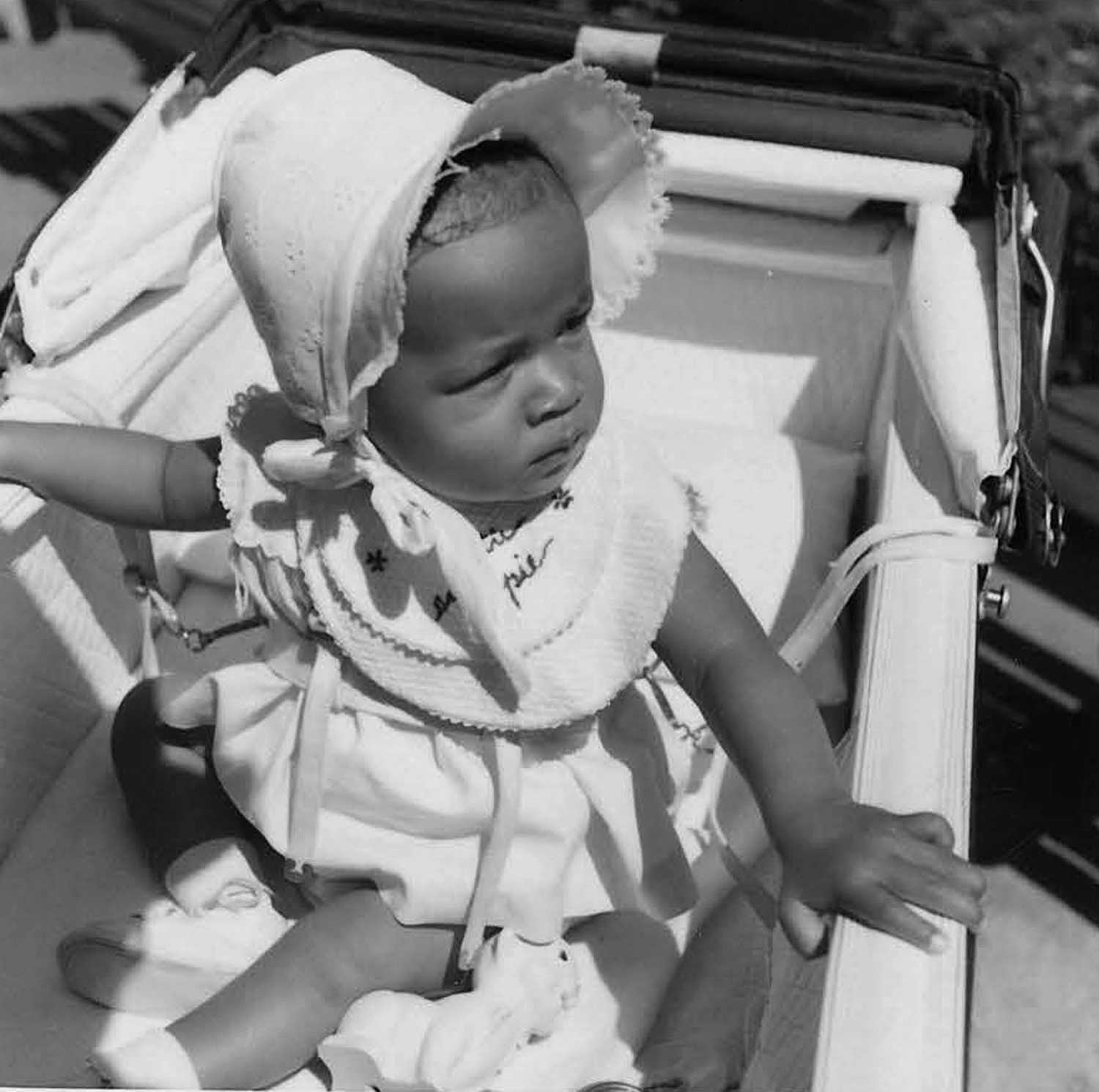 Karen as a baby. 1958.   Photo courtesy Karen Smith.