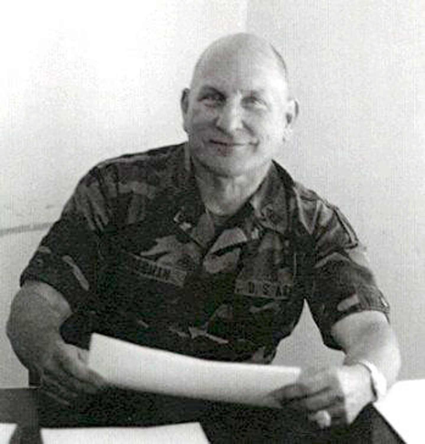 SGM Herb Friedman (ret.) during his military service.Image courtesy of  http://www.psywarrior.com