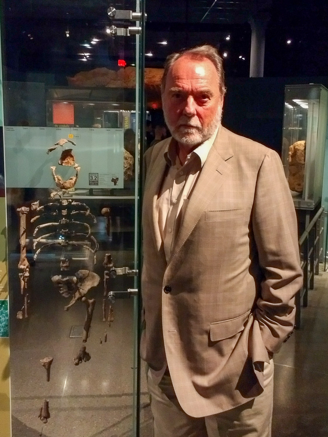 Ian Tattersall, Curator Emeritus of Human Origins, Division of Anthropology, American Museum of Natural History.