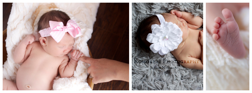 komorebi newborn photography