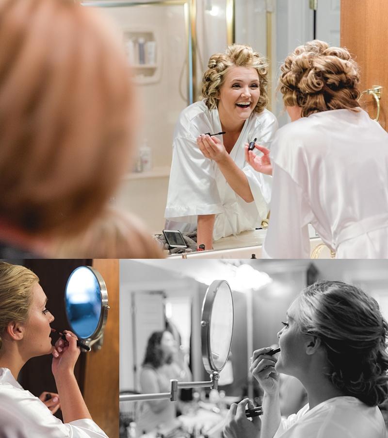 Katie Troll on her wedding day