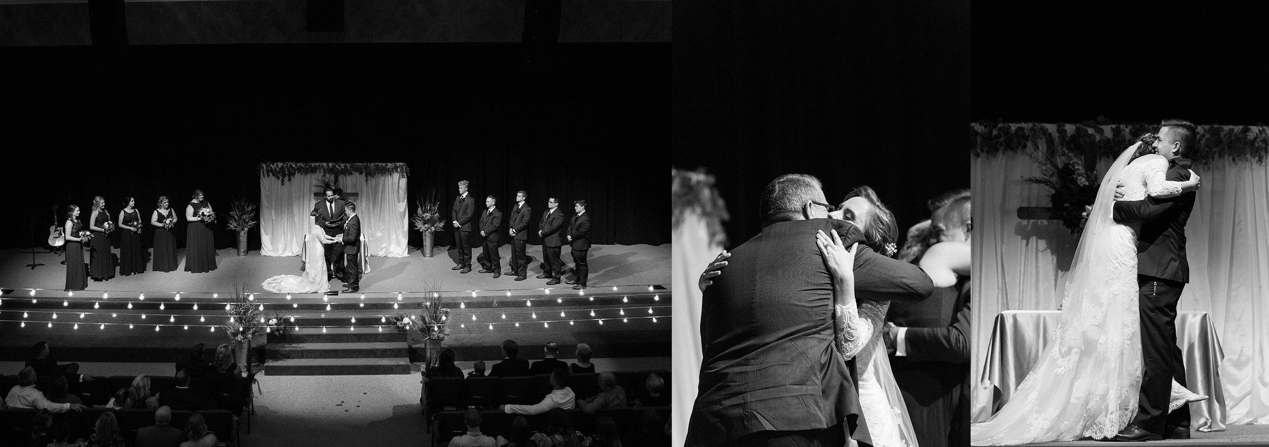 Greentree Church Wedding in Rolla Missouri -Komorebi Photography