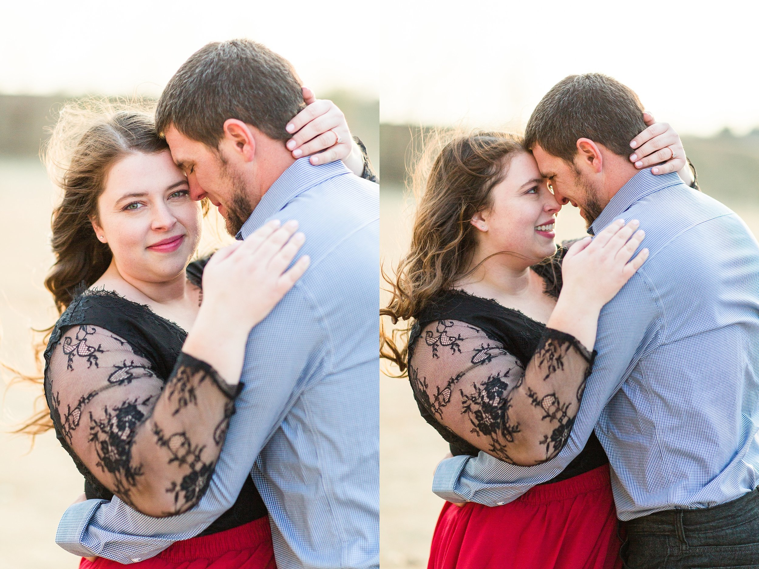 Fall Engagement Session in Oklahoma at The Baumberhof Wedding Venue