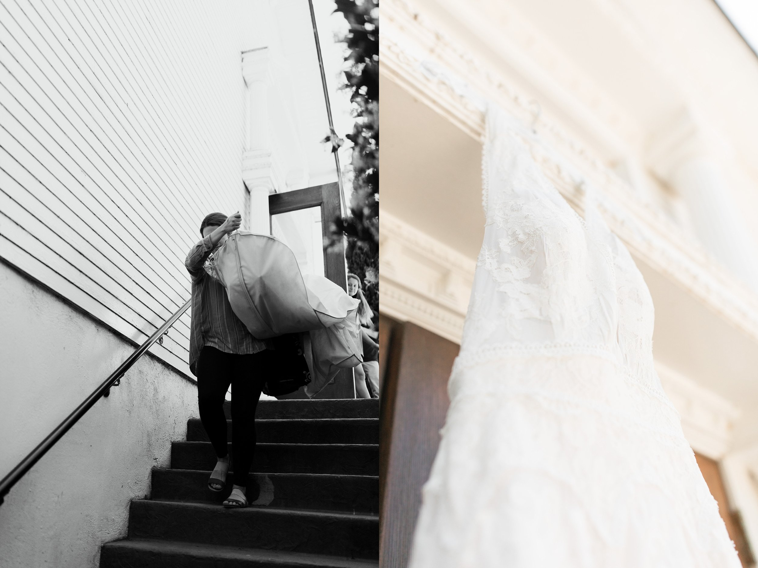 Sisterhood of the Traveling Dress -Portland Wedding Photographer