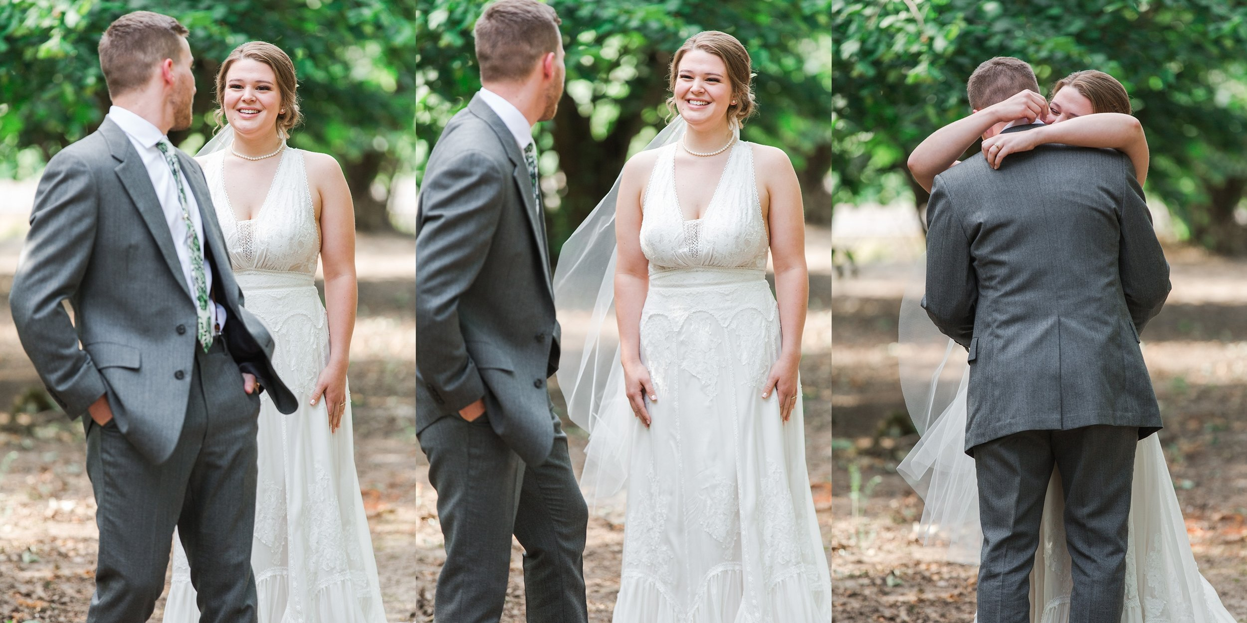 Sweetest First Looks OKC Wedding Photographer
