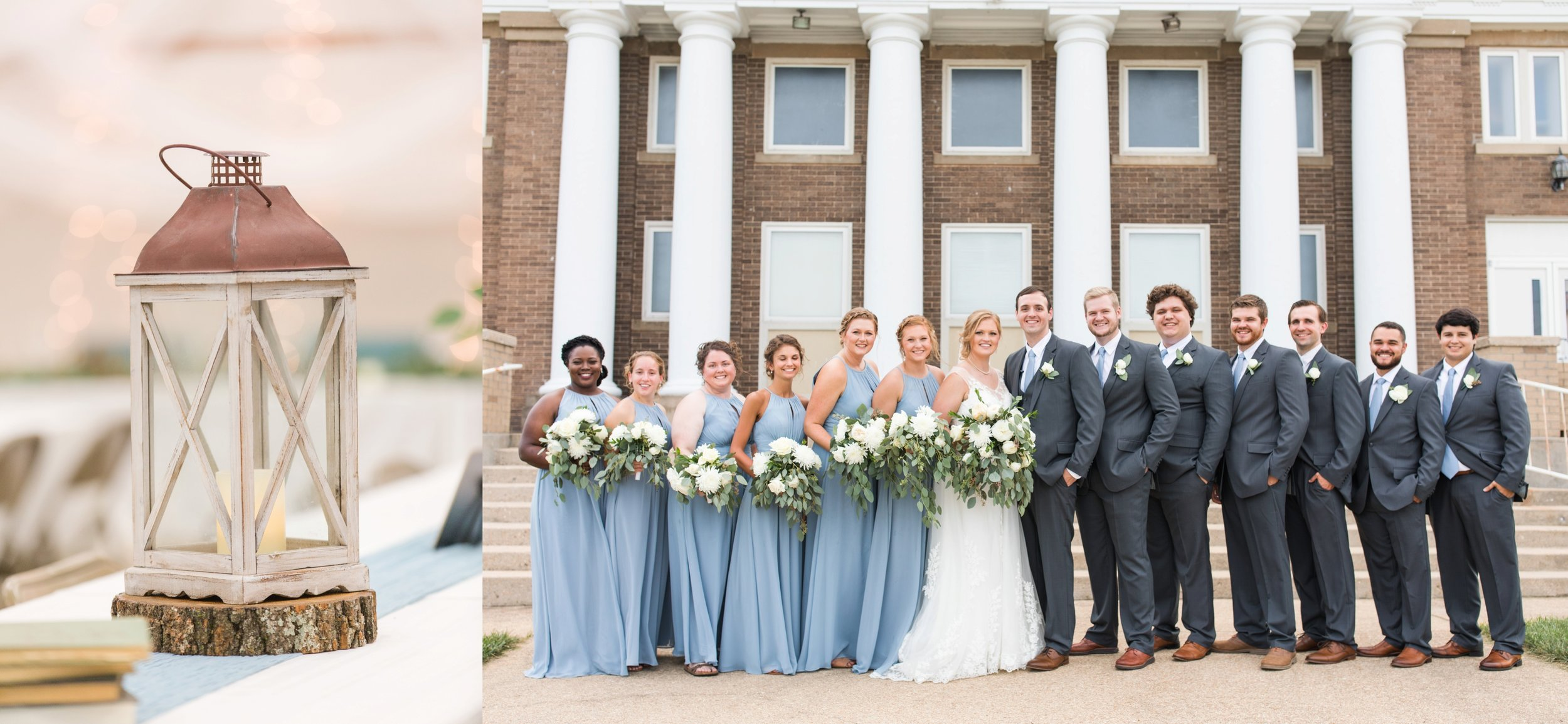 DIY Weddings Dusy Blue Jessica McBroom Photography