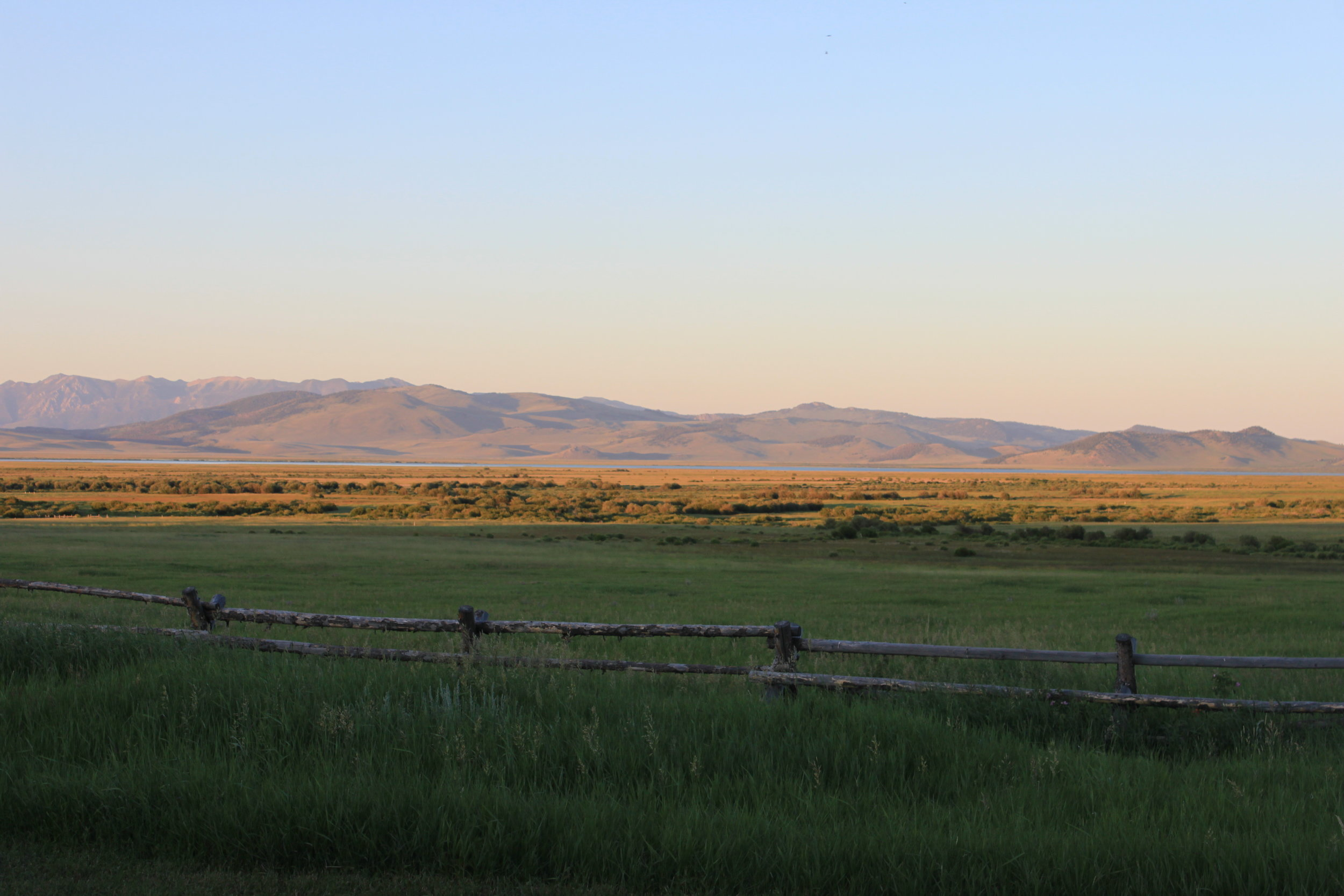 Photo of some big sky from a 2011 trip to Montana's Centennial Valley.