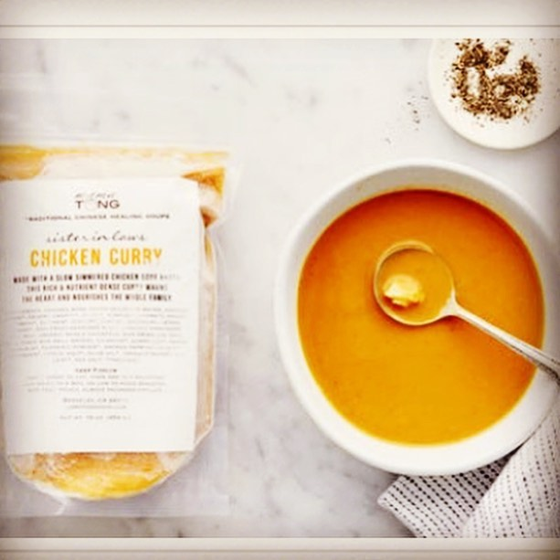 ***New Recipe Alert!*** #mamatongsoup #chickencurry now made with #chickenbonebroth add your own #veggies ❤️ #nutrientdense #slowfood #berkeley available @goodeggs
