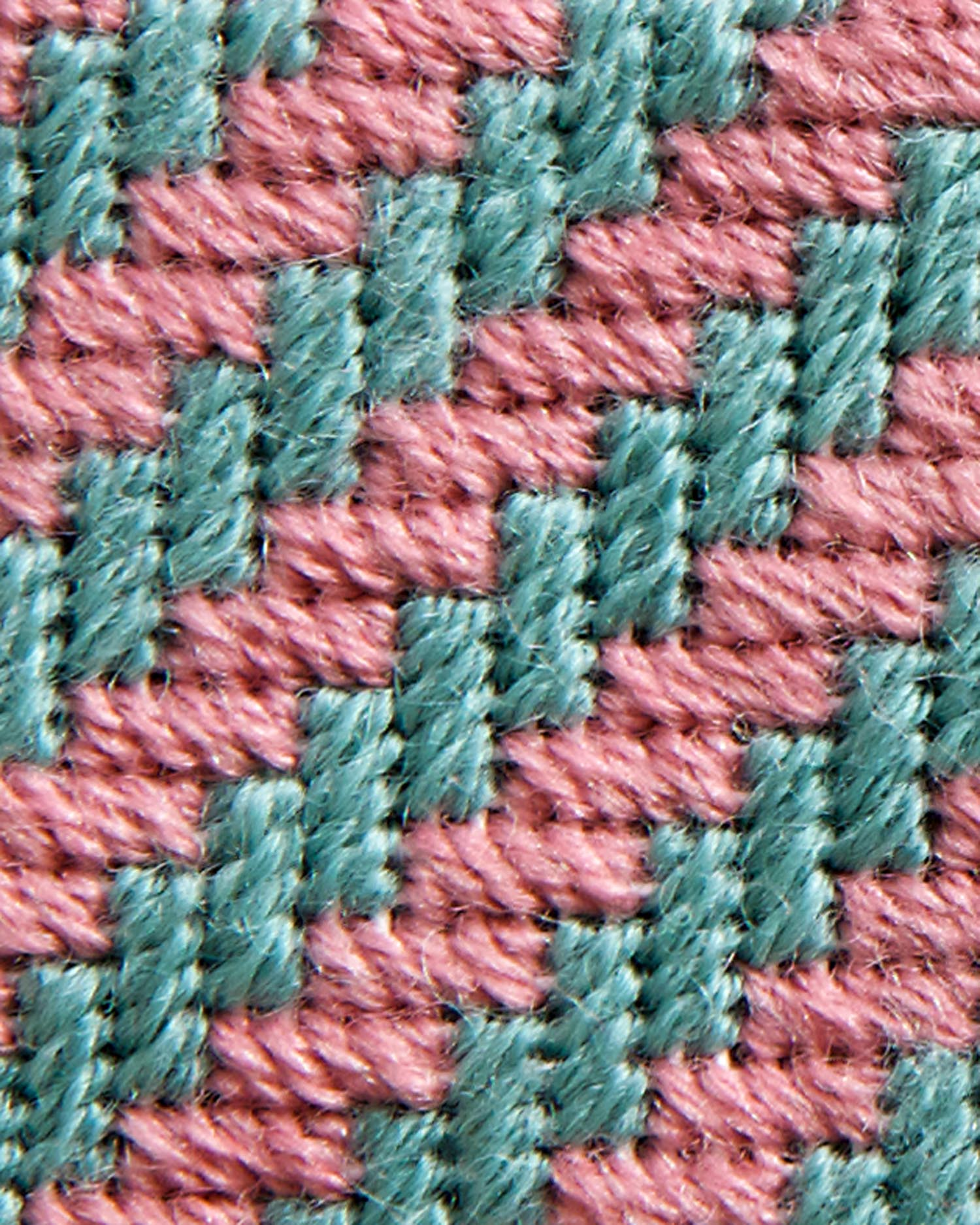 Stitch 35 - Diagonal Hedge Row