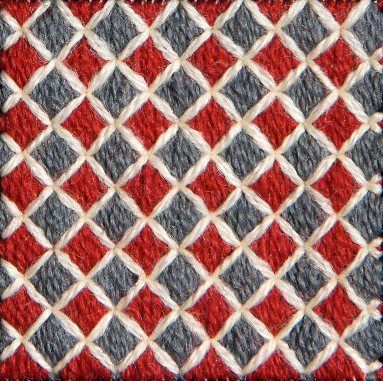 Stitch 76 - Hungarian Tile Work