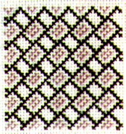 Diagonal Brick Lattice