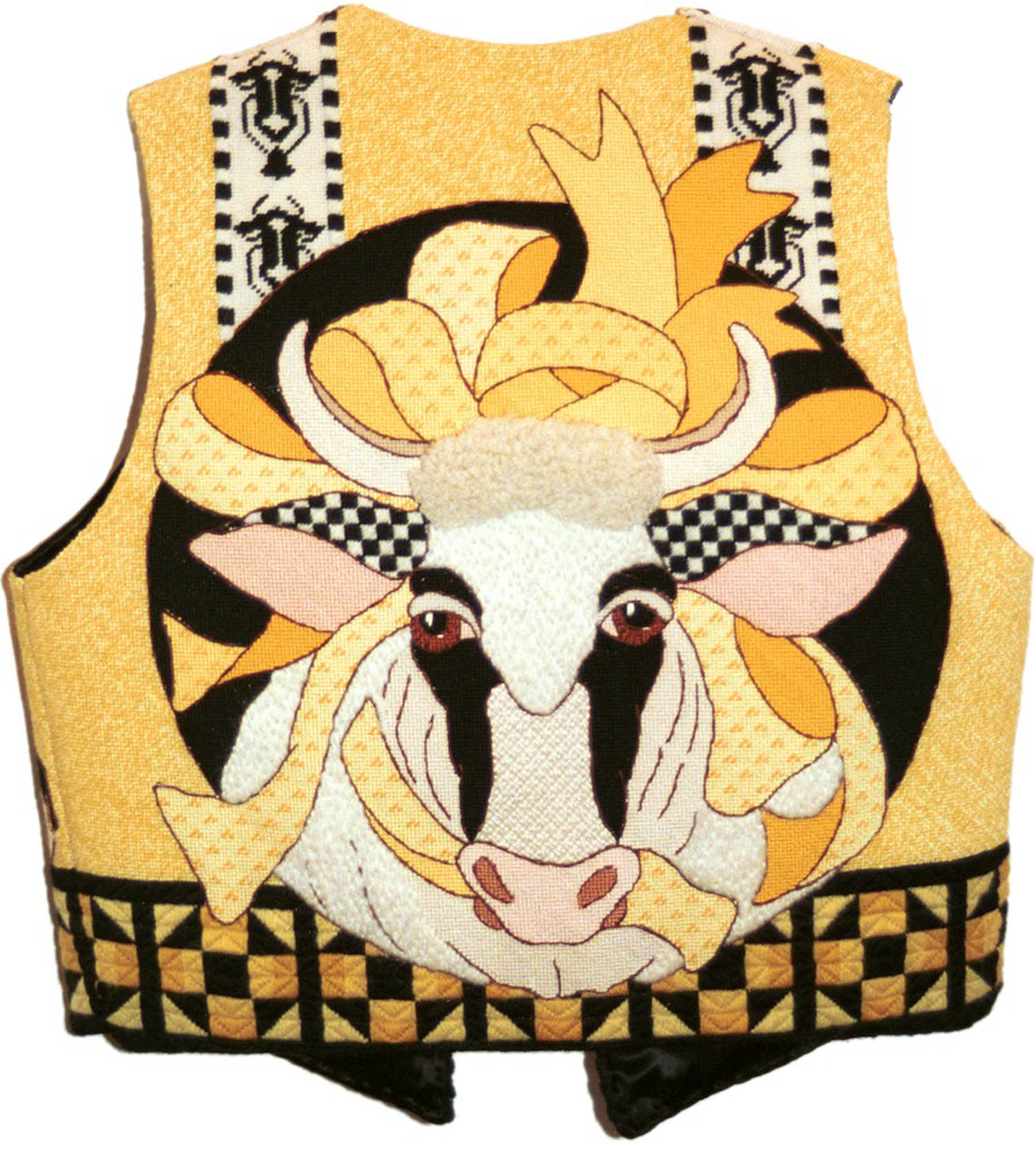 Cow Vest (Back side)