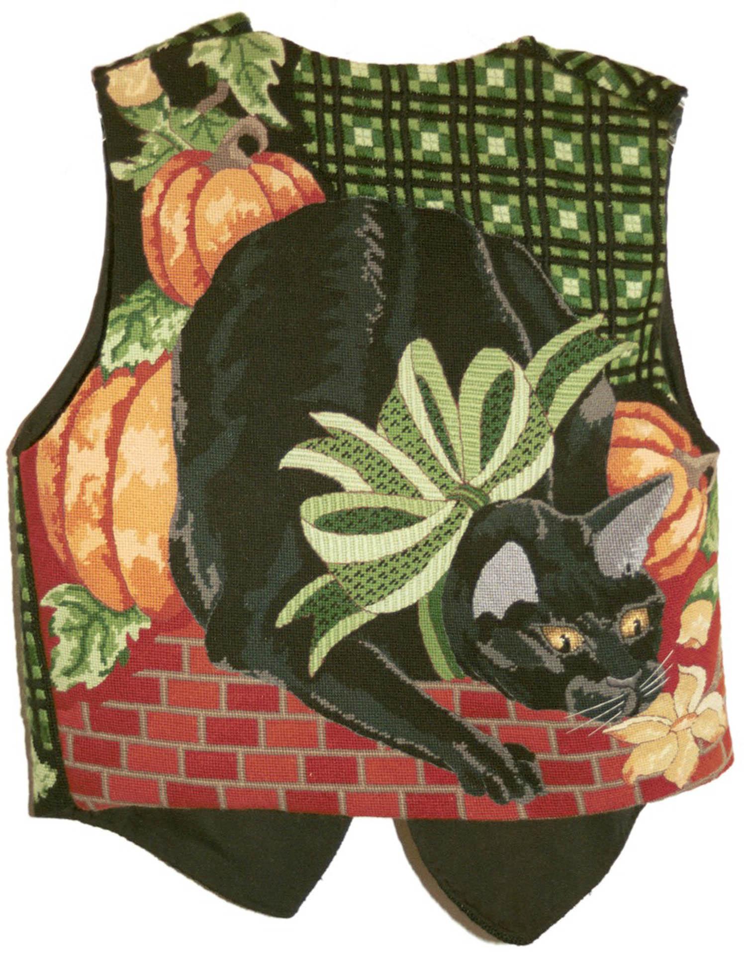 Pumpkin Vest (back)