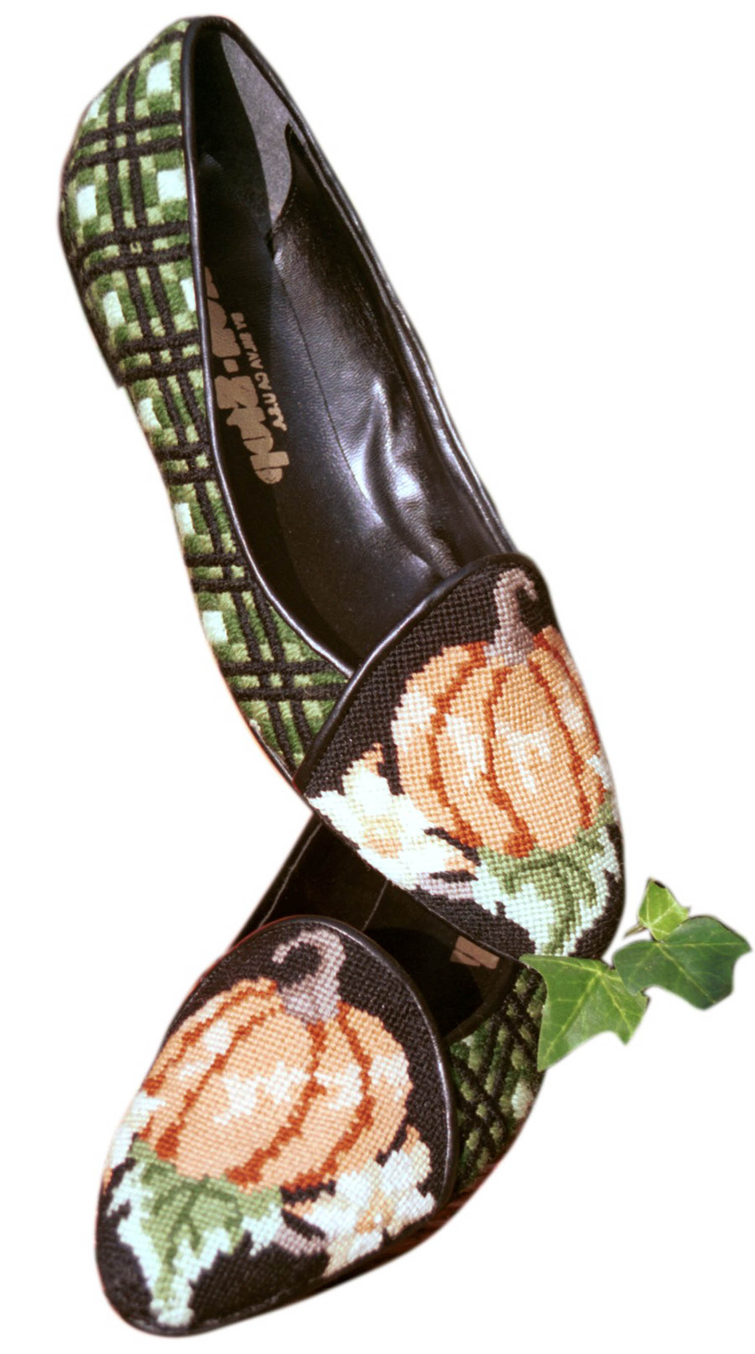 Pumpkin Vest Matching Shoes