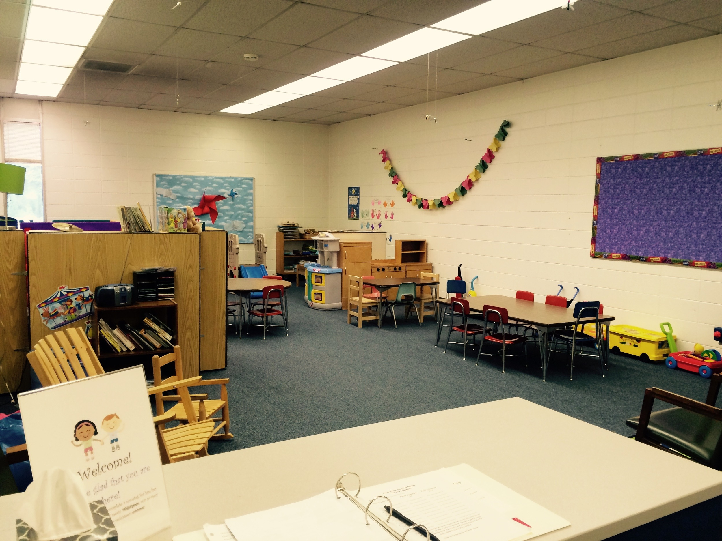Nursery--ready for fun and learning!