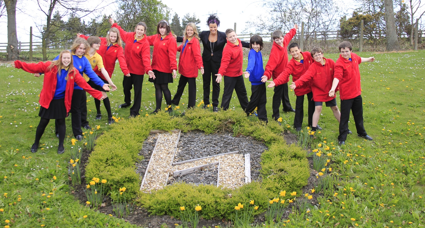 Highfield Middle School Ambassadors & Catherine Haslam (sml).jpg
