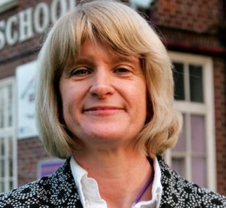 Patsy Kane, Executive Headteacher, Levenshulme High School. Patsy delivered a presentation on how to make schools safe for students and facilitated part of theworkshop 'how to build and maintain a successful anti-bullying campaign'.
