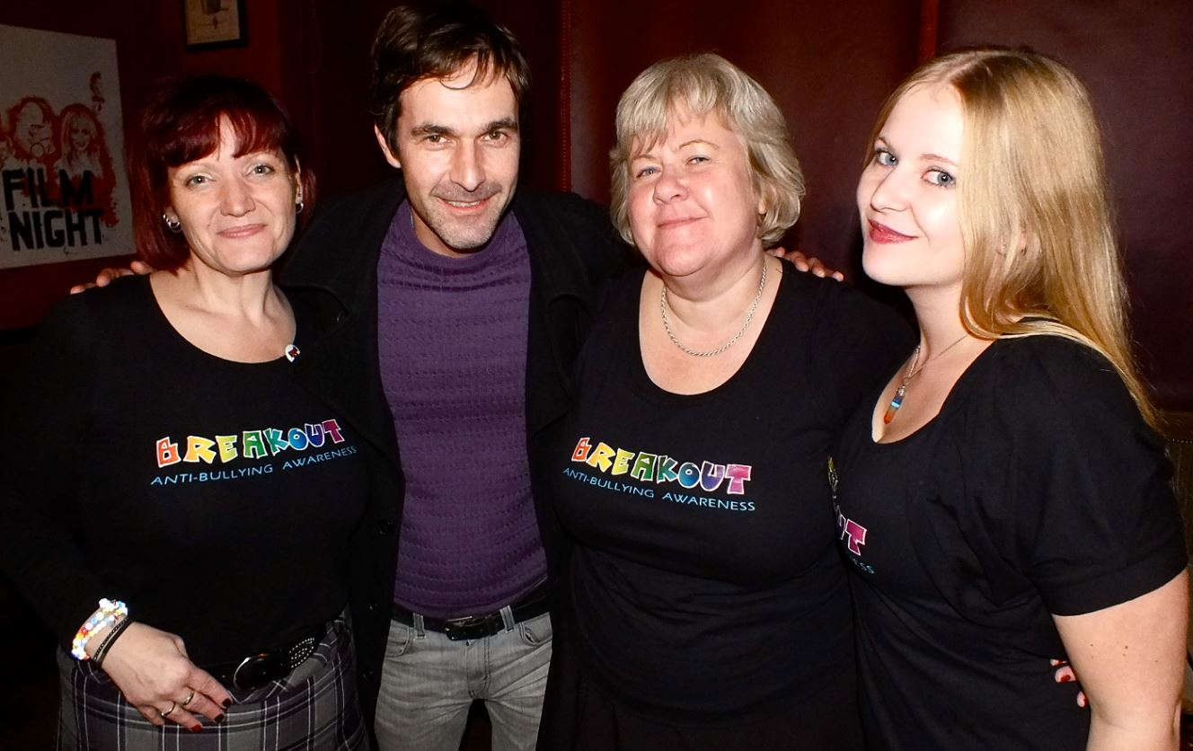 Serena Mitchell-Burns, Sharon Lockyer, Sian Dickman along with Mark Morriss who headlined the 2014 BreakOut even