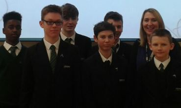 The Coome Boys' School Anti-Bullying Ambassadors
