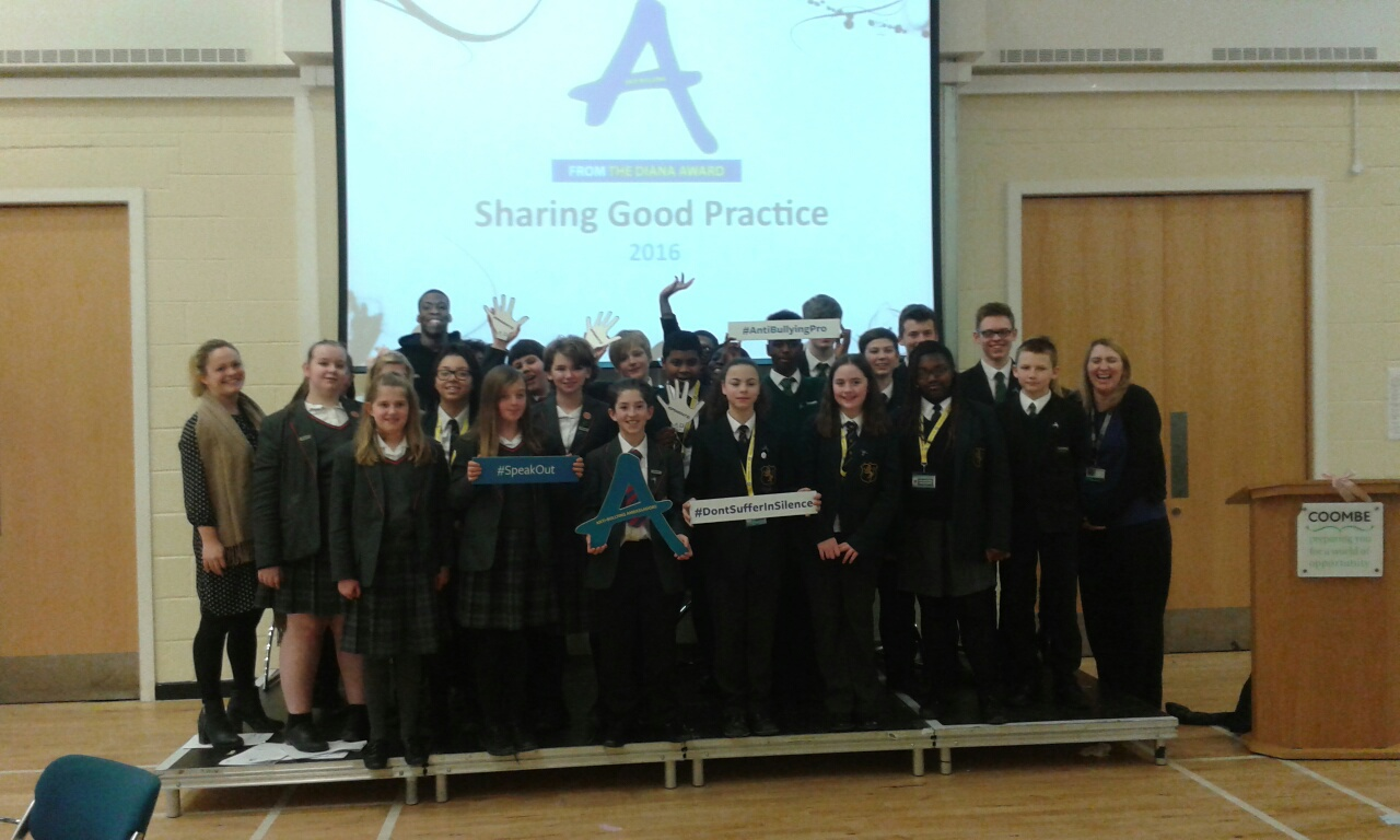 The Diana Award Staff would like to thank all of the schools that attended the event and for sharing their Good Anti-Bullying Practice.