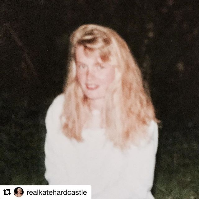 """#Repost @realkatehardcastle (@get_repost) ・・・ I can't believe I'm back here again. Actually not back because this time it's so much more upsetting. And I thought it was awful before. 30 odd years ago I was torn apart for years at school - emotionally, physically, berated for not having the right material things ( #Head sports bag anyone) and my looks. I was 9/10. I hadn't grown into me yet. I was a happy little thing who within months couldn't bear to be on pictures or look in a mirror.  And 30 odd years later, that """"goofy"""" girl has just walked to school an 8 year old daughter worried about going to school because she was made to feel bad about herself because of a comment about her teeth.  LET ME STATE THIS NOW FOR THE RECORD - there is a good chance that all 3 of my beautiful children will have more prominent teeth or gaps. They are beautiful. All children are.  @Madonna has beautiful teeth and is an awesome lady.  Children should not be scared to go to school because someone makes them feel inferior. It damages education, family life, confidence etc.  We need to give children the tools to understand how to deal with bullying, to work out ways in which not to choose bullying as a route and as adults to just behave better to set a great example. Seriously people still think it's okay to mention my teeth now when I've done a TV piece . Honestly - you think I've got to 40 and didn't notice my teeth?  I work hard to support organisations that can help our young people like @dianaaward @antibullyingpro and the Positive Image Campaign. I'd love it if you could look into their work.  15% increase in depression in our young people fuelled by the very physical elements of social media & the quest for perfection.  Let's make the change  #Bullying #GoofyTeeth #AntiBullying #FearofBullies #Looks #School #Support #Charity #Help #YoungPeople #Children #StandUpToBullying #PrincessDiana"""