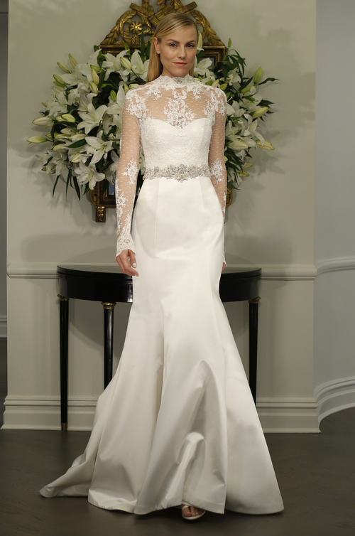 Legends Romona Keveza L5128 Lace Sleeves Mermaid Wedding Dress Tampa Bridal Boutique