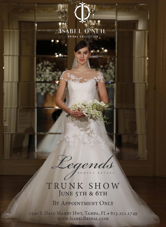 mermaid wedding dress lace Legends Romona Keveza Tampa Bridal Shop