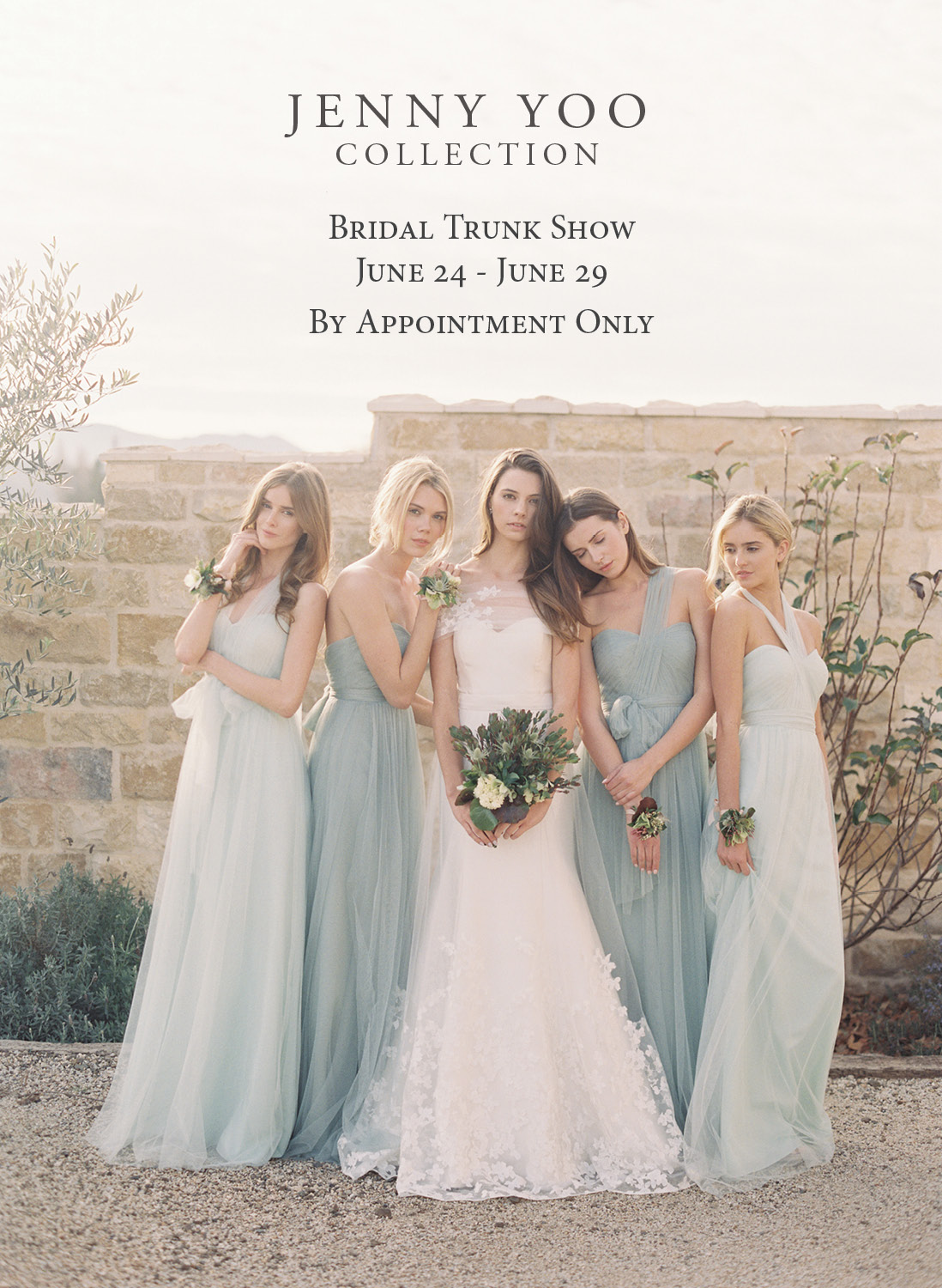 Jenny Yoo Wedding Dress Bridesmaids Annabelle
