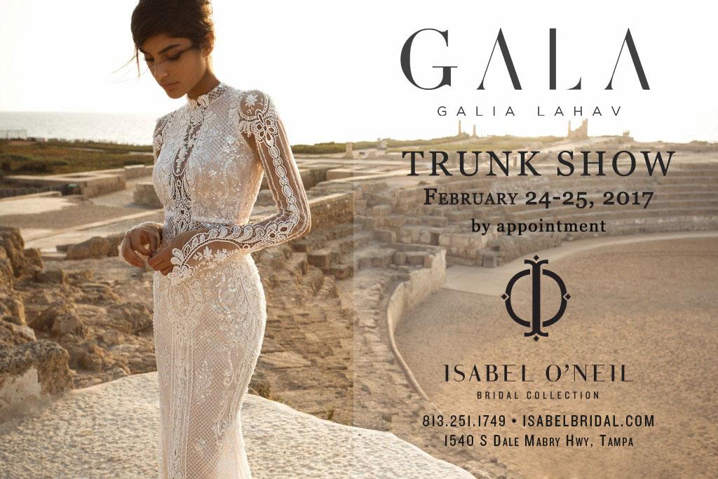 GALA Galia Lahav Trunk Show Tampa Florida Sexy Lace Wedding Dress Shop Boutique