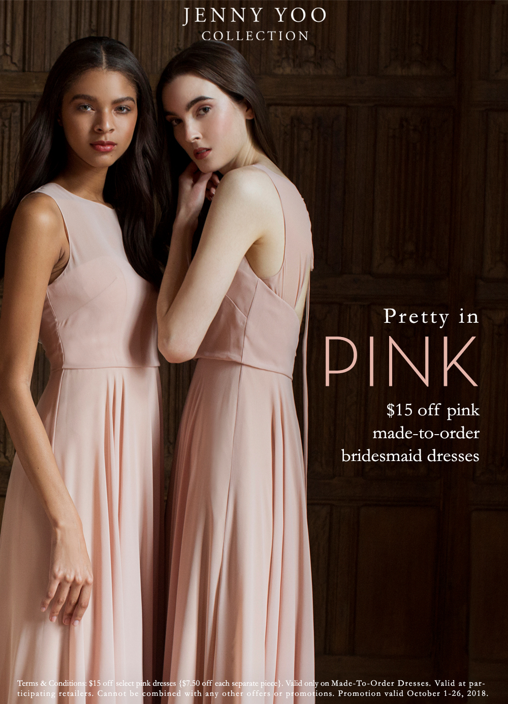 Jenny You Pink Blush Bridemaids Dresses Tampa Boutique