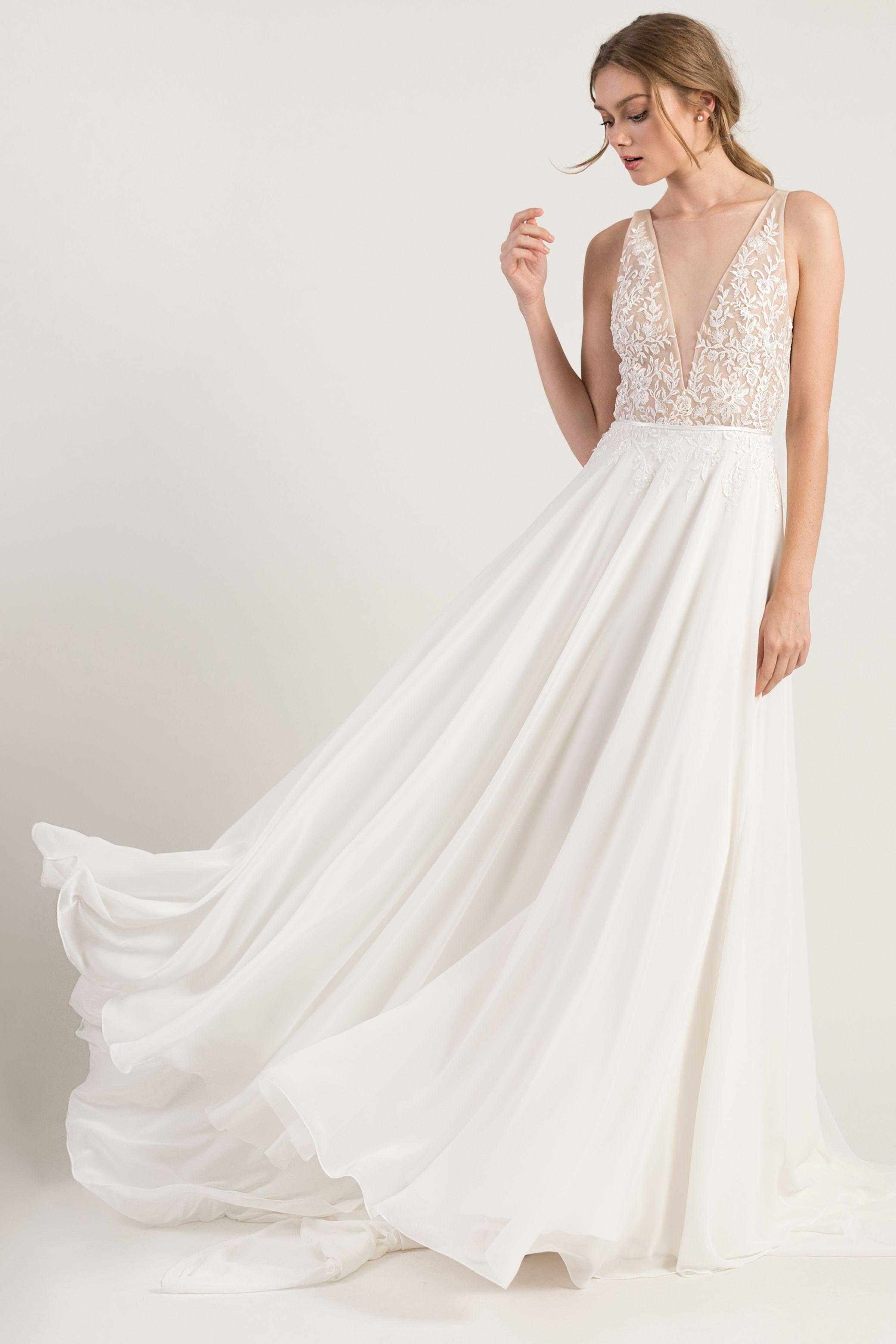 Jenny Yoo Martina Bohemian Chic Wedding Dress