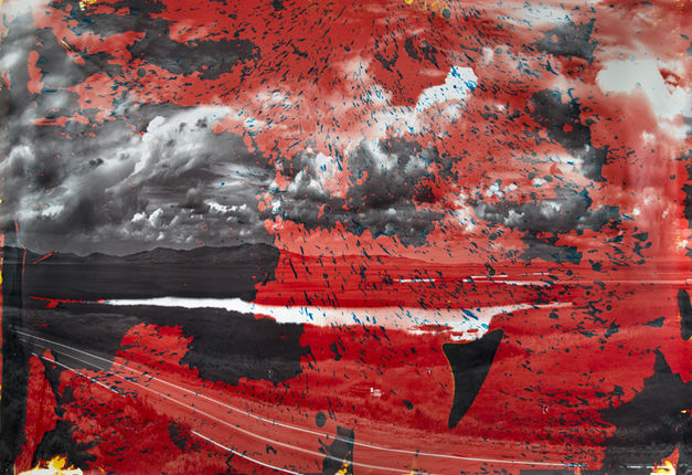 Matthew Brandt,  Grays Lake, ID 7  , 2013. © Matthew Brandt, courtesy Yossi Milo Gallery, New York.