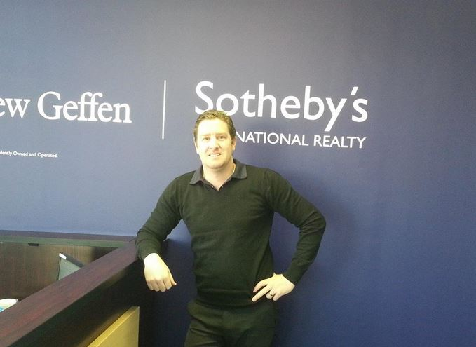 Broker Grahame of the Lew Geffen Sotheby's International Realty office  that is hosting Denise – located in the Midrand office just between  Johannesburg and Pretoria