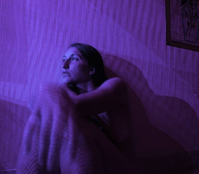 Night light in my hotel room in Jodhpur, 2015. . . . . .  #selfie #selfportrait #photographer #purple #nighttime #nightshot #yul